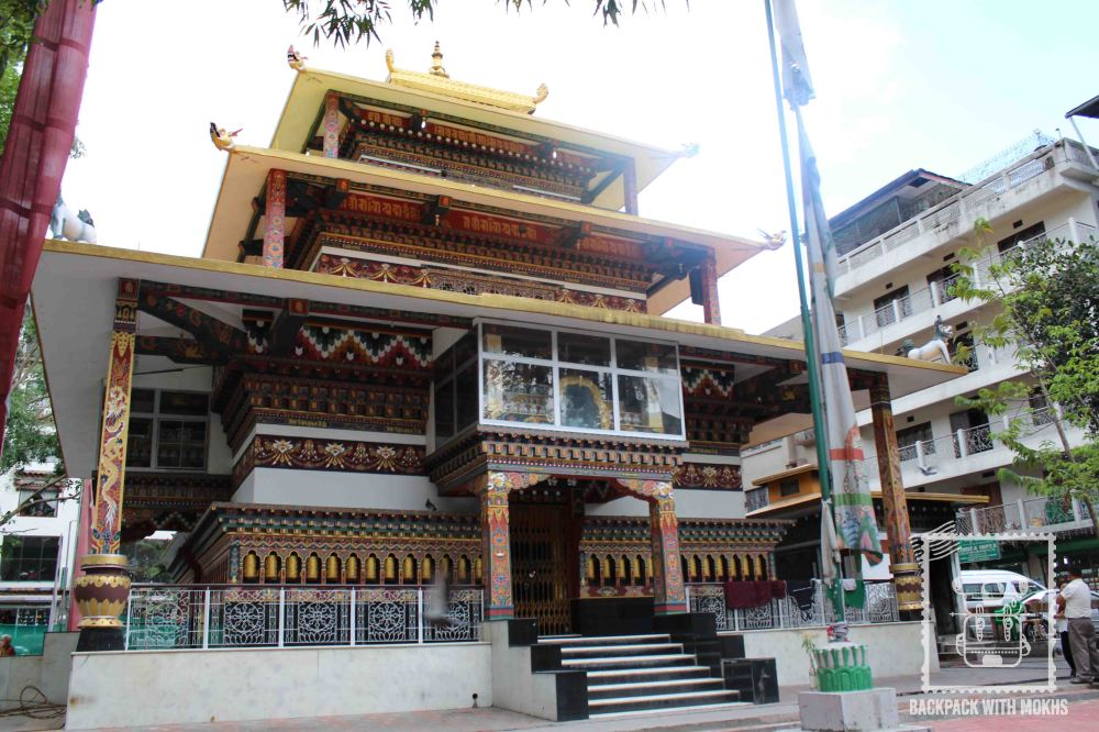 Zangtopelri Temple in Phuentsholing