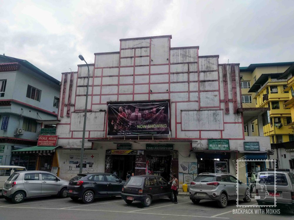 Cinema Hall in Phuentsholing looks old and worn out