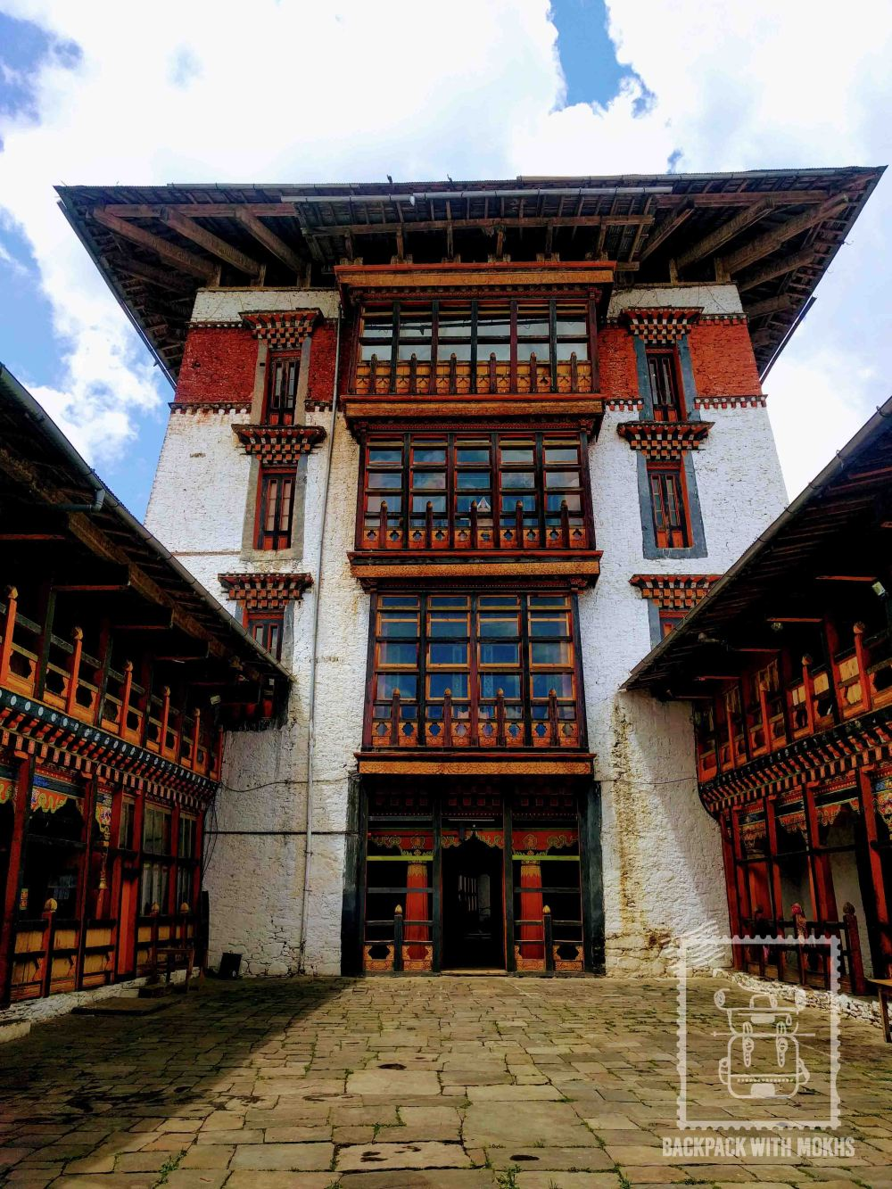 Dzongs are fortresses which serve as religious and administrative centers of a particular district (Dzongkhag). Bhutan does not have states/provinces but consists of 20 districts which make up the entire country.