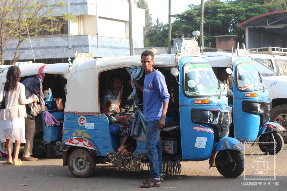 bajaj or tuktuk