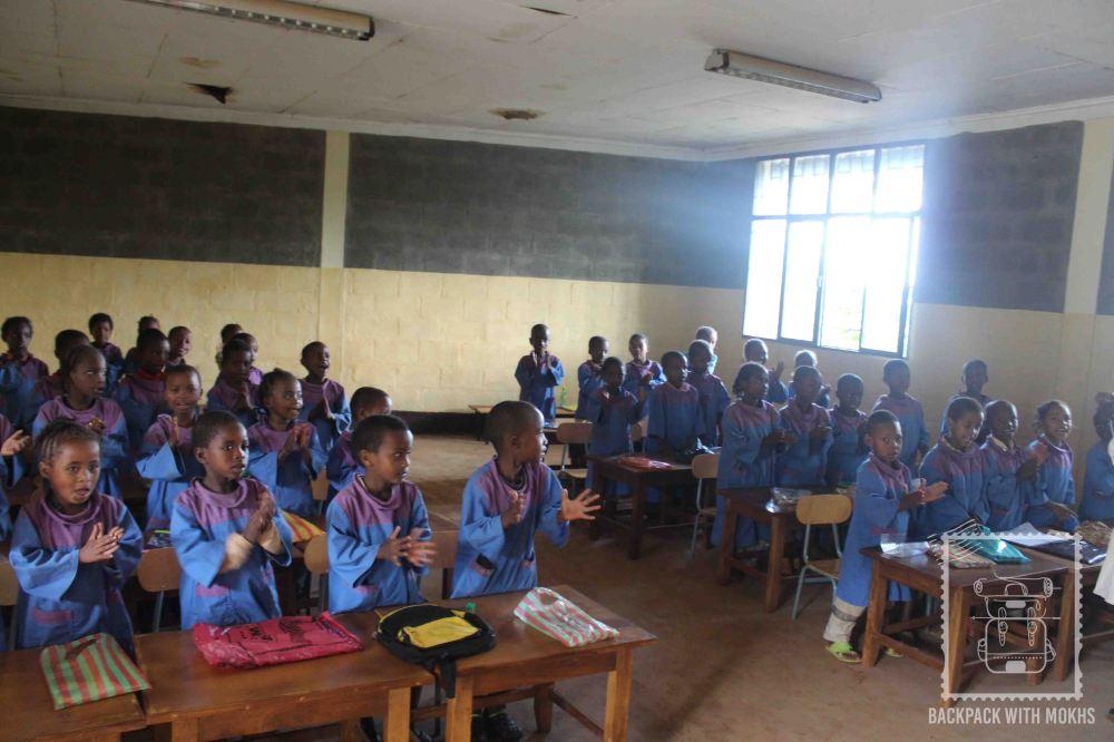 classroom in dilla