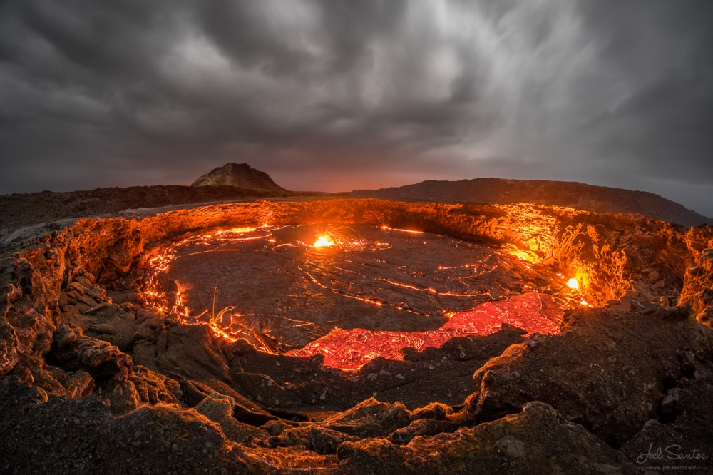 Erta Ale volcano from the inside
