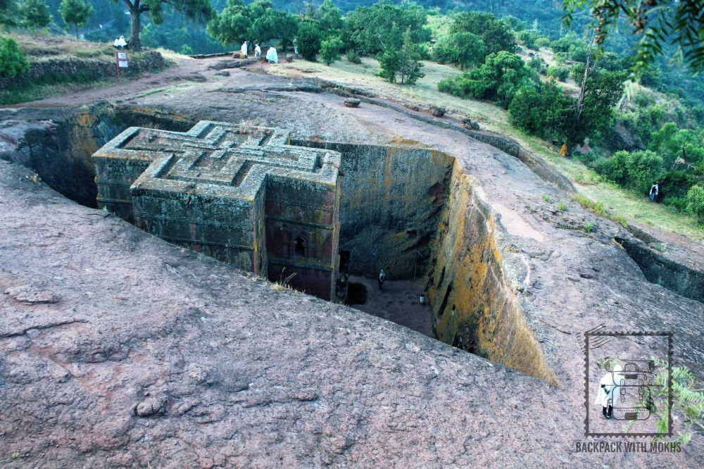 St. George's church in lalibela