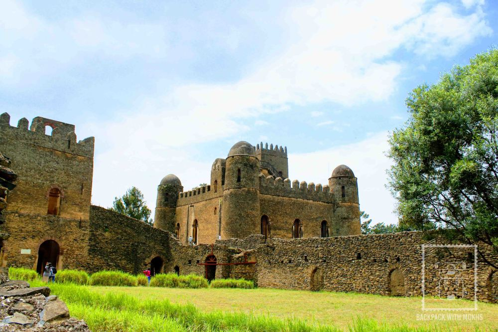 stone castle in gondar