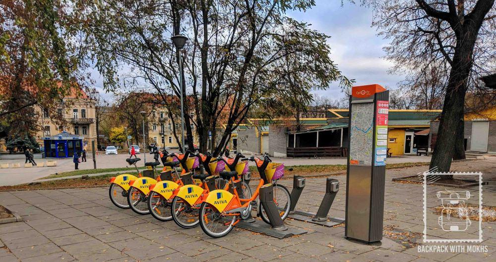 Biking in Lithuania