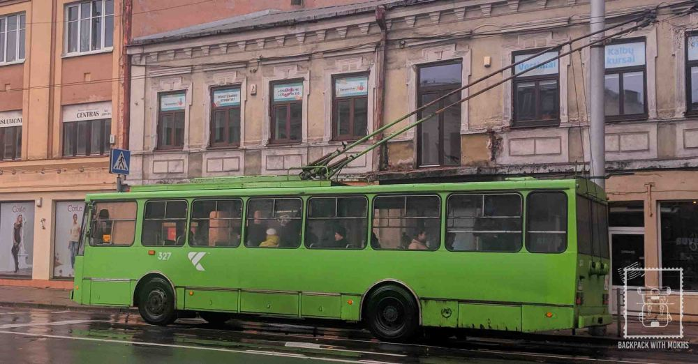 Bus in Kaunas