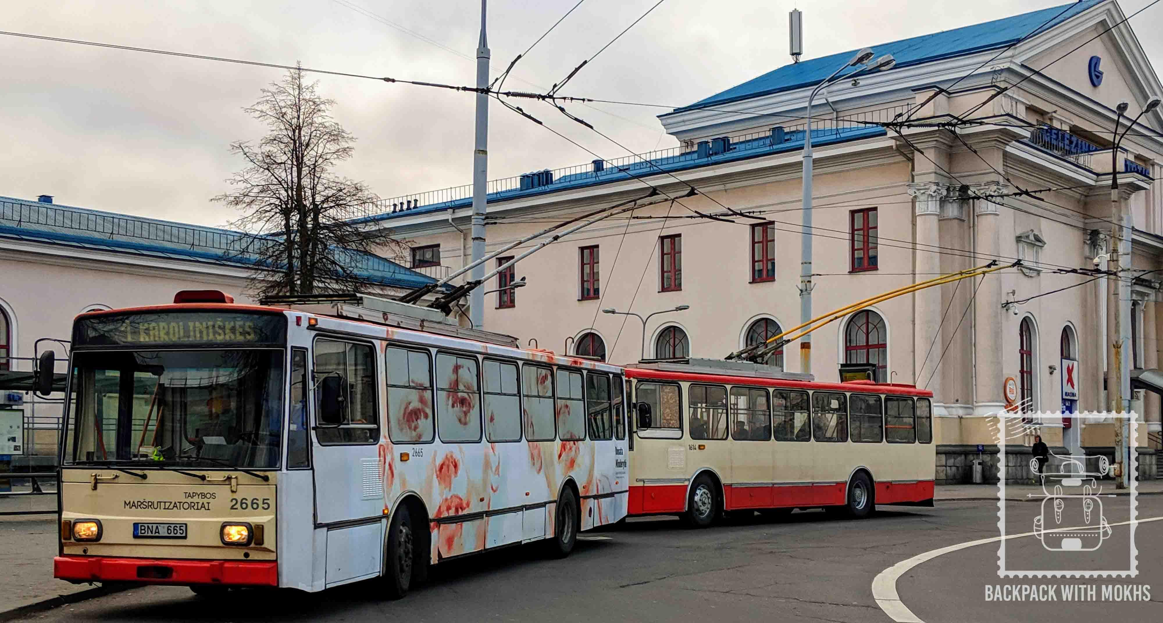 Buses in Vilnius
