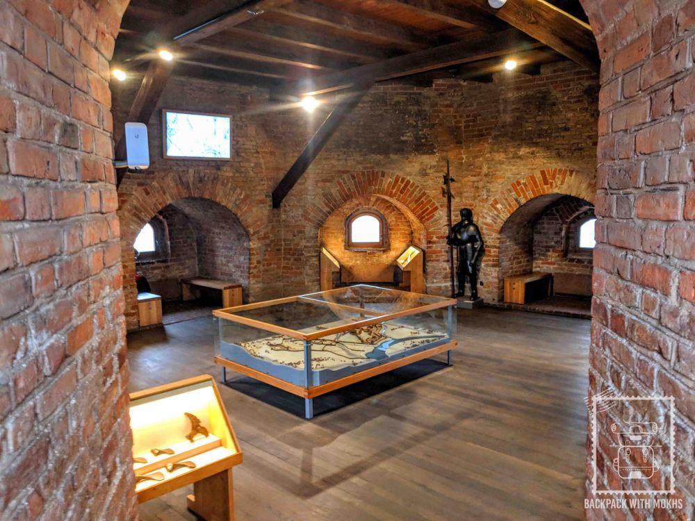 Inside the Gediminas Tower
