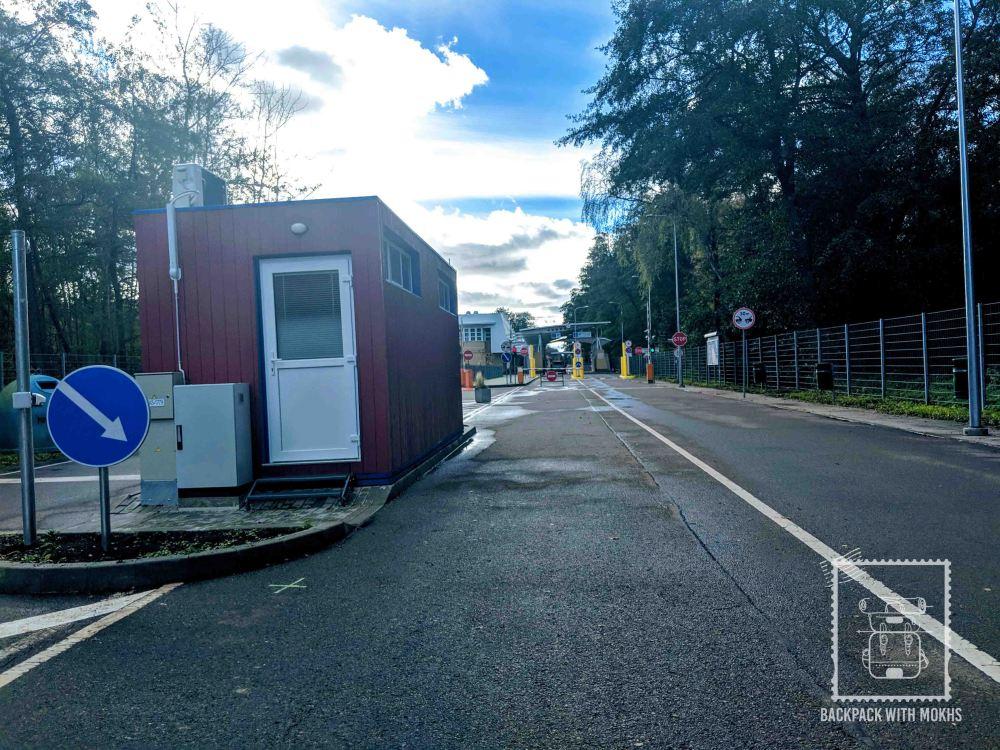 Kaliningrad - Lithuania border crossing, Nida