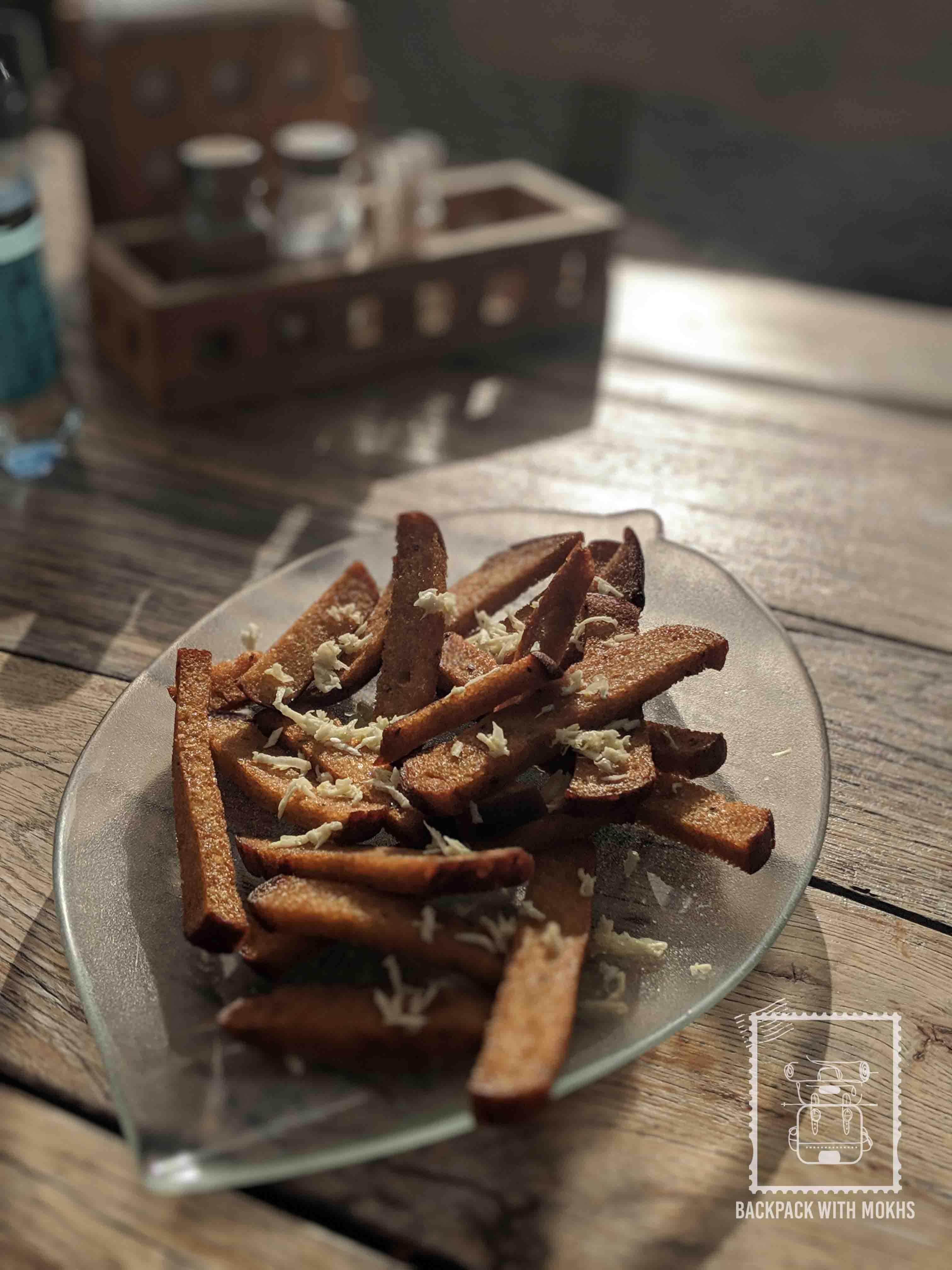 Kepta duonas - Lithuanian dish