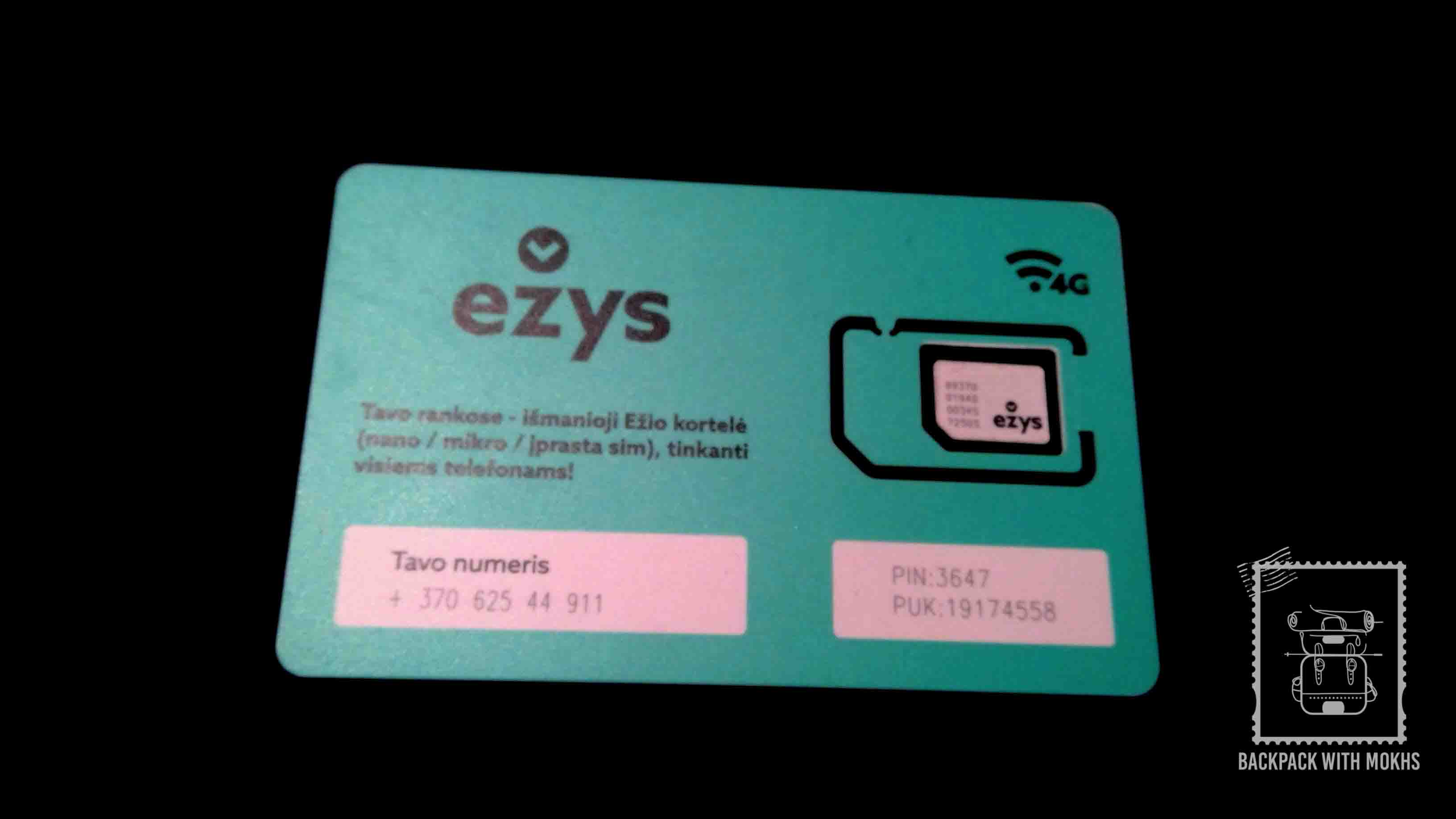 Phone cards in Lithuania