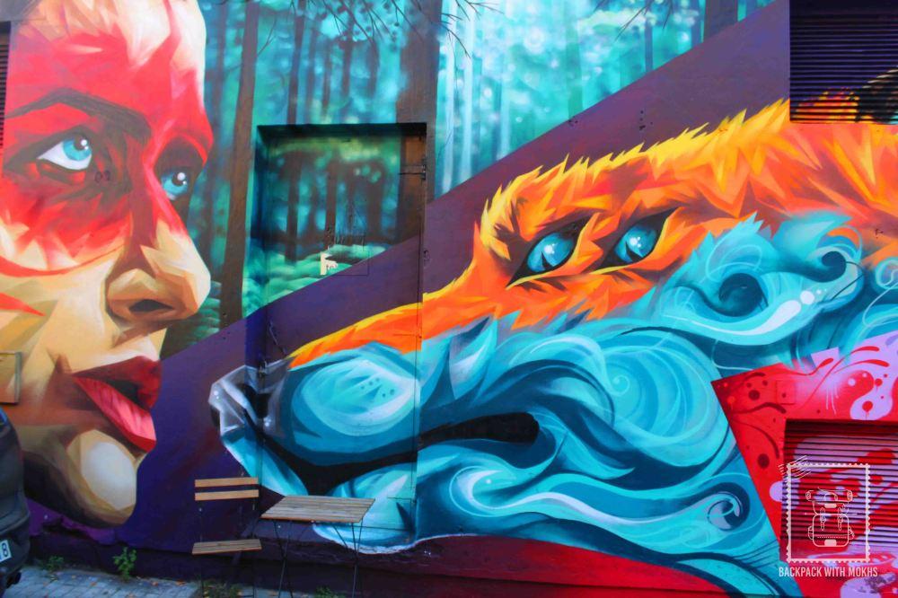 Street Art in Uzupis, Lithuania
