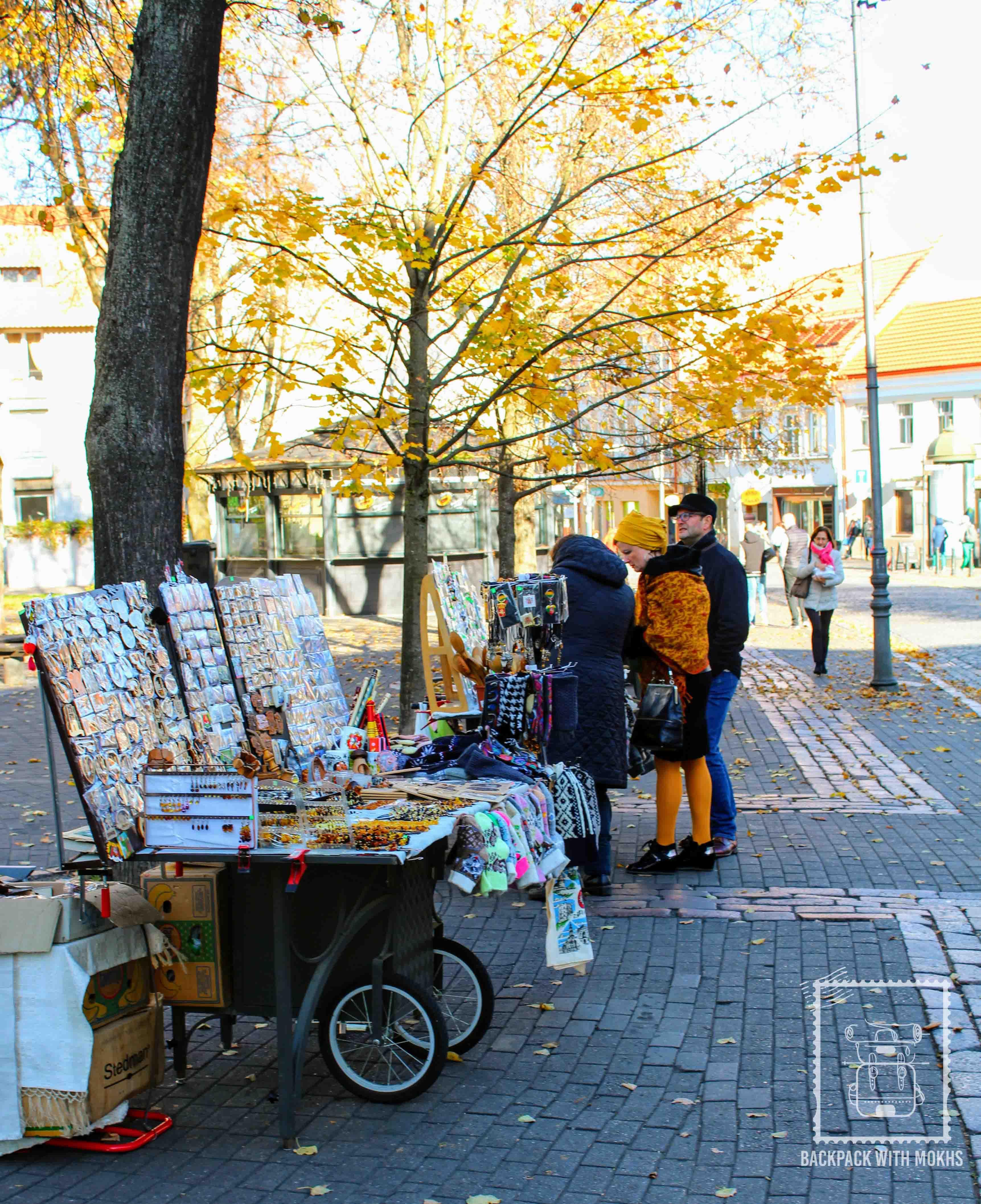 Street Markets Vilnius