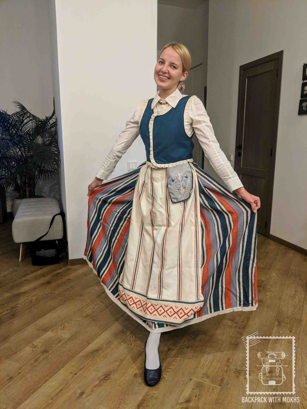 Traditional Lithuanian dress for women