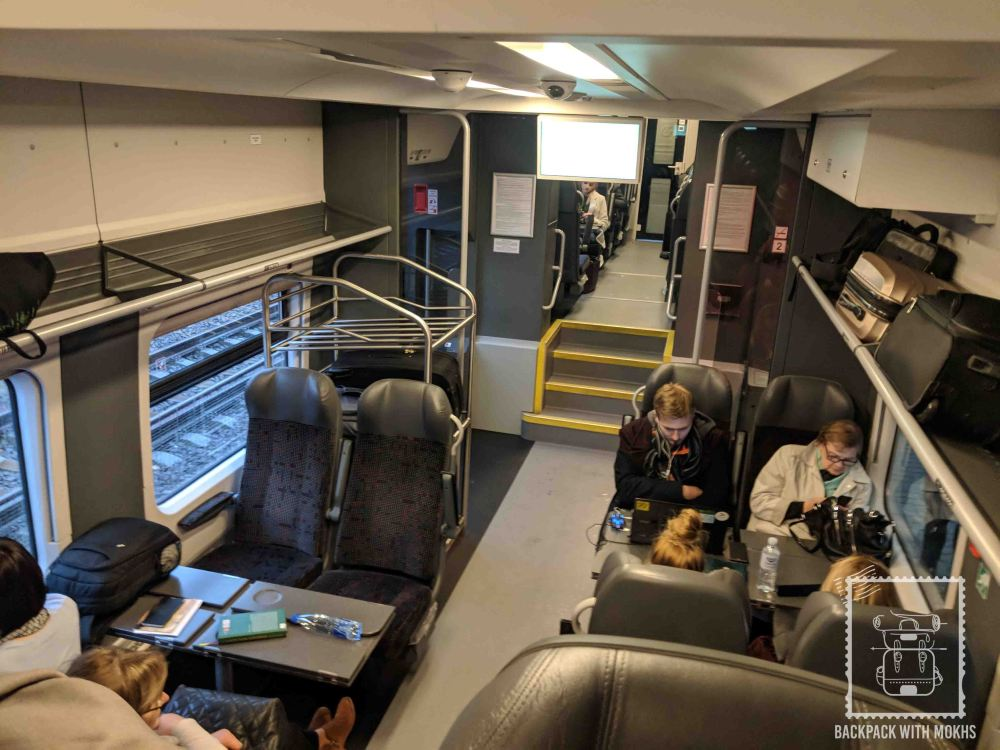 Train from VIlnius to Klaipeda