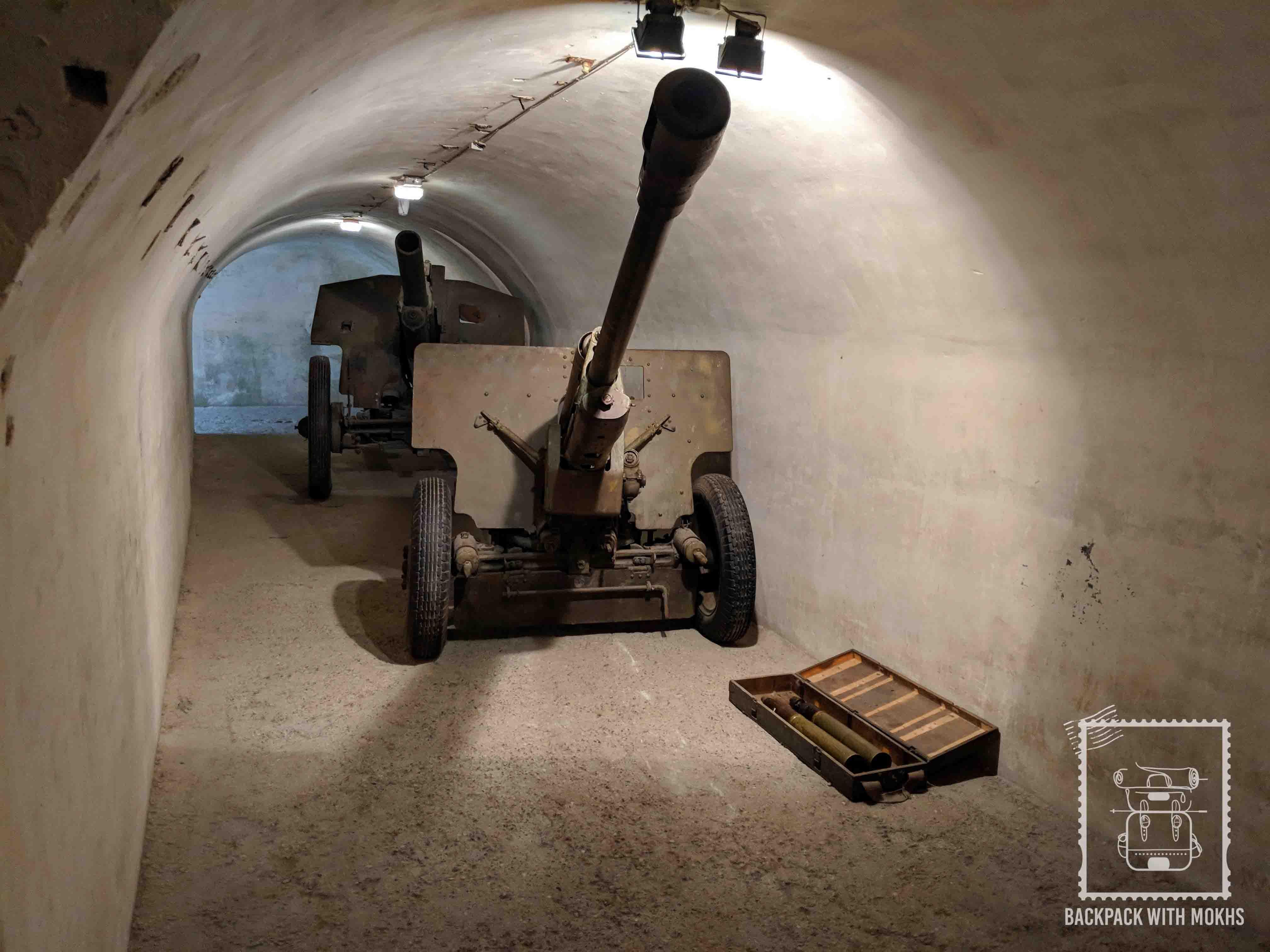 Tunnels of Kaunas Fortas IX