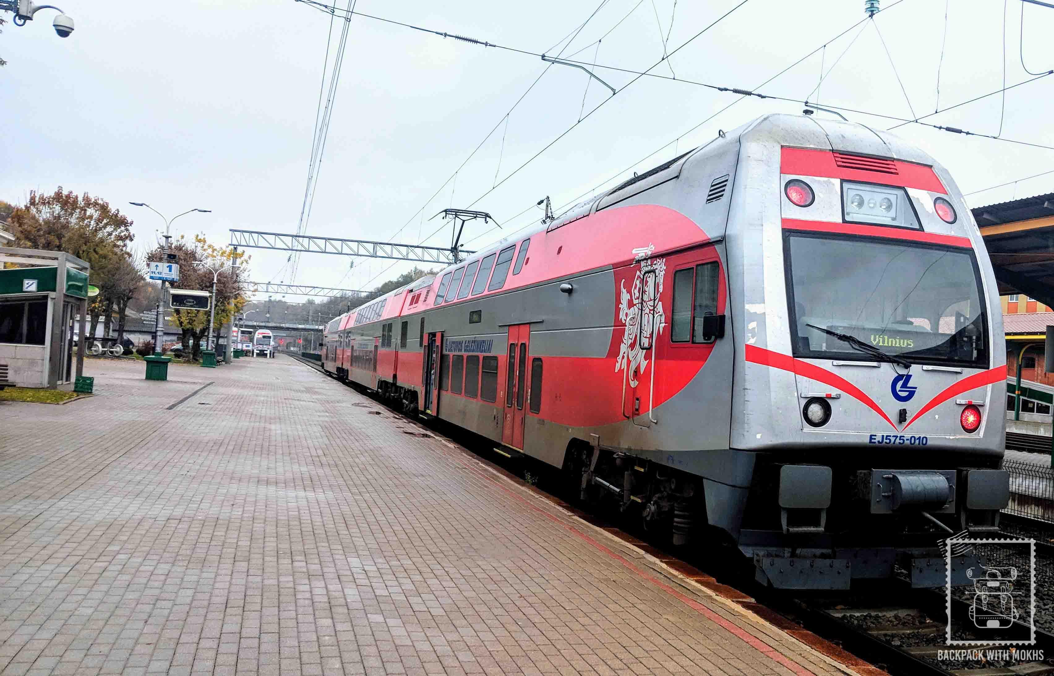 Vilnius - Kaunas train